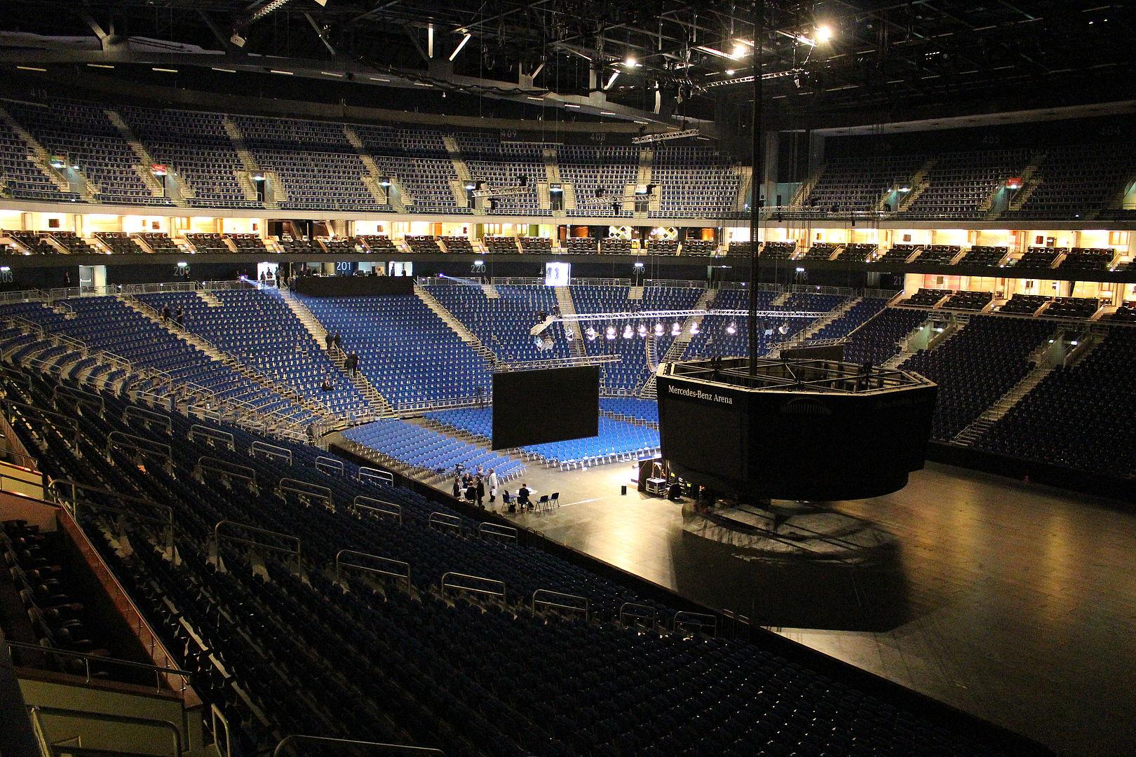 Mercedes benz arena berlin sitzplan 3d