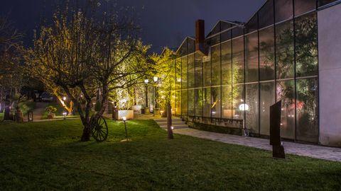 Glasgewächshaus - Bild 1