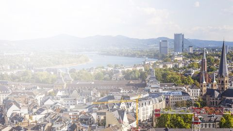 Feier in einer Location in Bonn