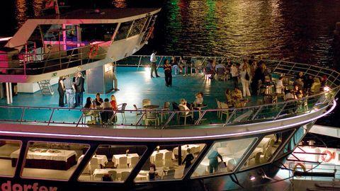Eventschiff MS RheinEnergie - Partyräume