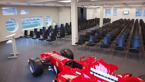 Business Center im Michael Schumacher Kartcenter - Konferenzräume