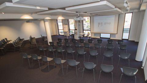 Veranstaltungsraum im P3 Konferenzzentrum in Wolfsburg