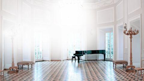 Konzert im Konzertraum in Berlin