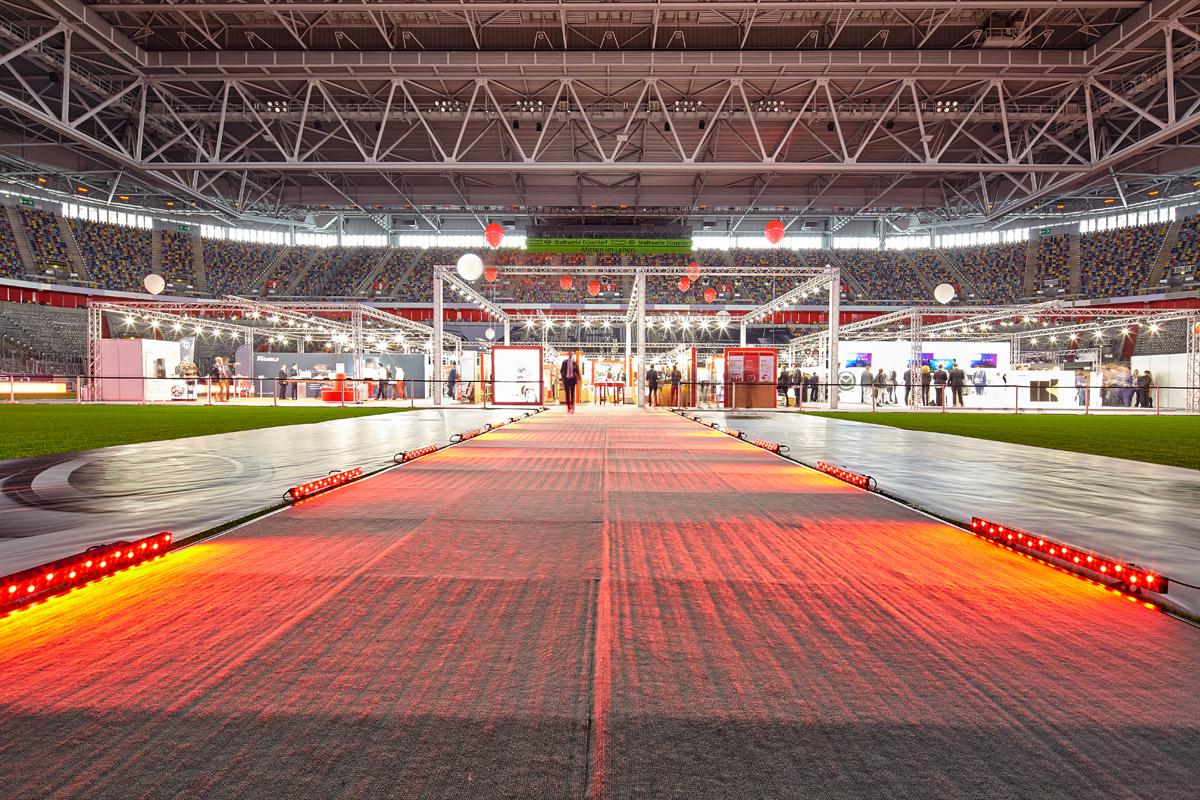 Esprit Arena Veranstaltung Fiylo