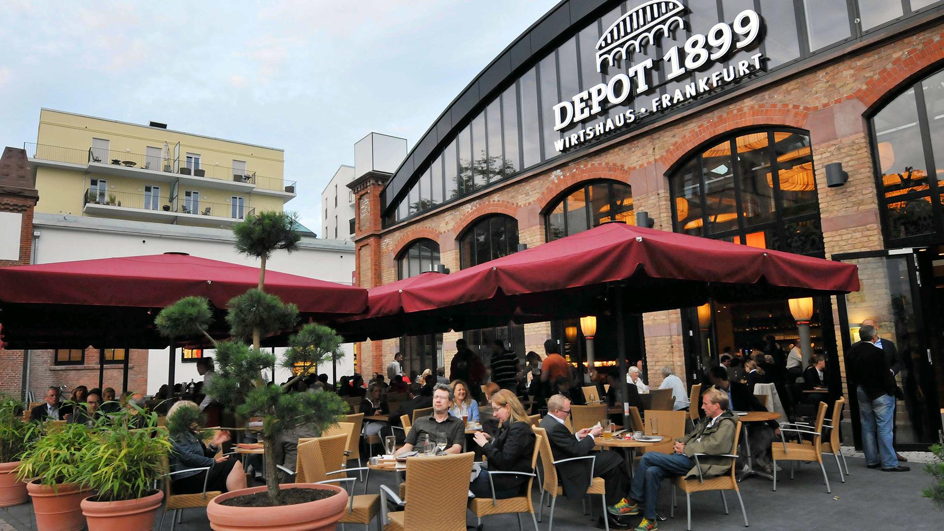 Depot 1899 restaurant fiylo for Depot offenbach