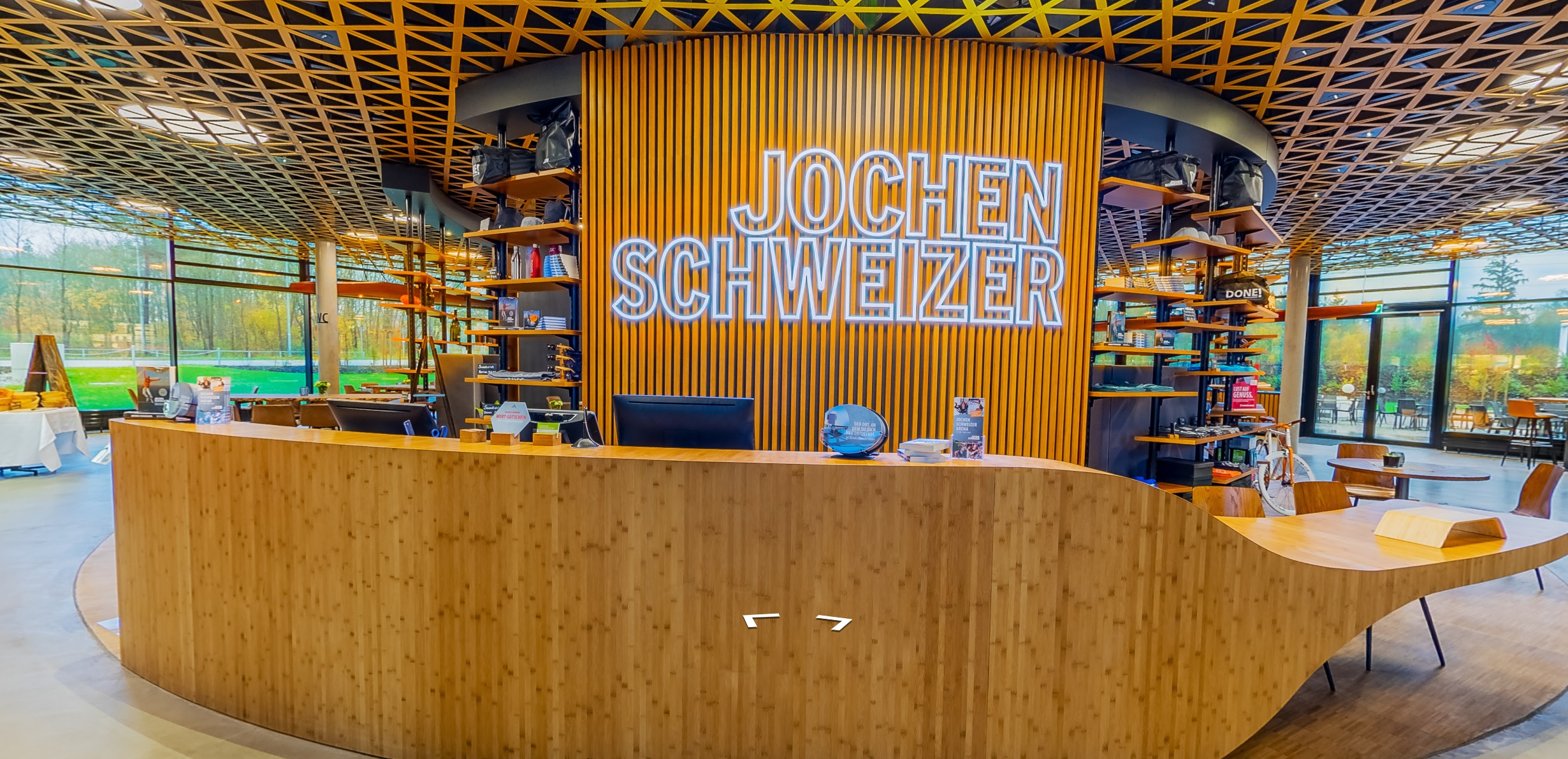 Jochen Schweizer Arena - 360° Innen-Ansicht