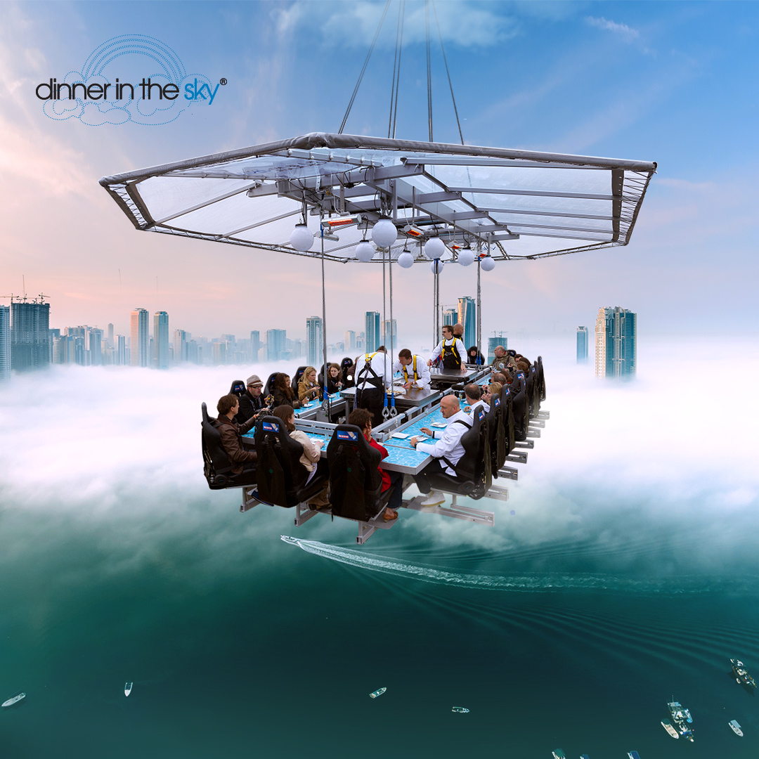 Dinner in the sky - Video