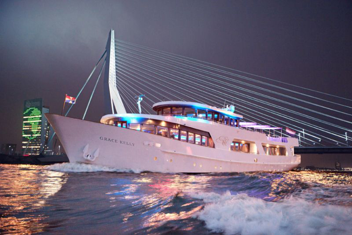 Eventschiff Grace Kelly Eventlocation Dusseldorf