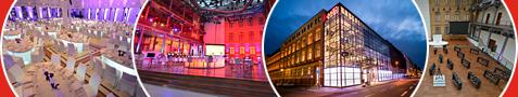 Im Herzen Berlins verknüpft die Telekom Hauptstadtrepräsentanz Vergangenheit und Gegenwart